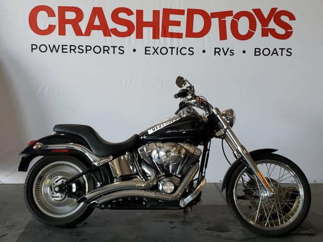 Salvage cars for sale from Copart San Diego, CA: 2006 Harley-Davidson Fxstdi