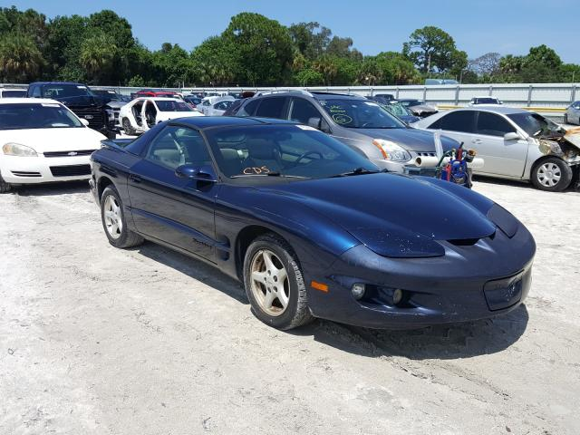 Pontiac Firebird salvage cars for sale: 2002 Pontiac Firebird