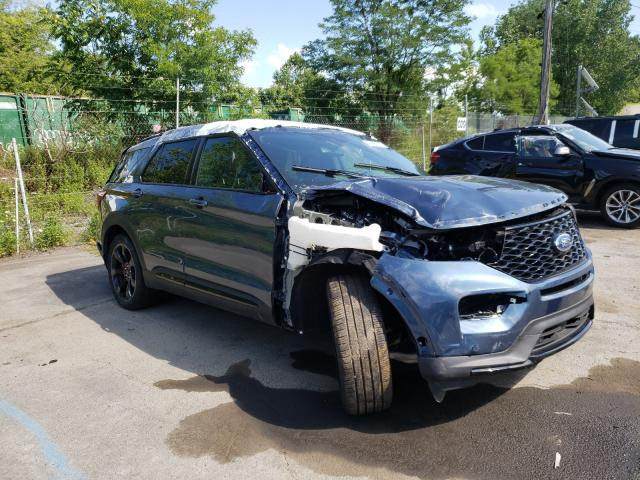Ford Explorer S salvage cars for sale: 2020 Ford Explorer S