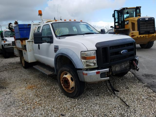 Ford F550 Super salvage cars for sale: 2008 Ford F550 Super
