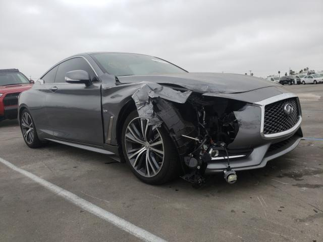 Infiniti Q60 Luxe 3 salvage cars for sale: 2018 Infiniti Q60 Luxe 3