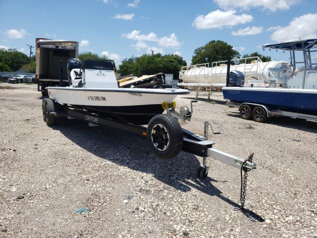 Salvage cars for sale from Copart Corpus Christi, TX: 2019 Hayn Boat