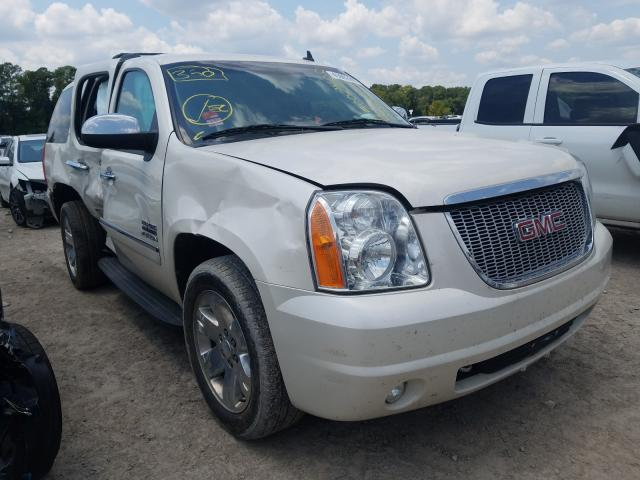 Salvage cars for sale from Copart Houston, TX: 2013 GMC Yukon SLT