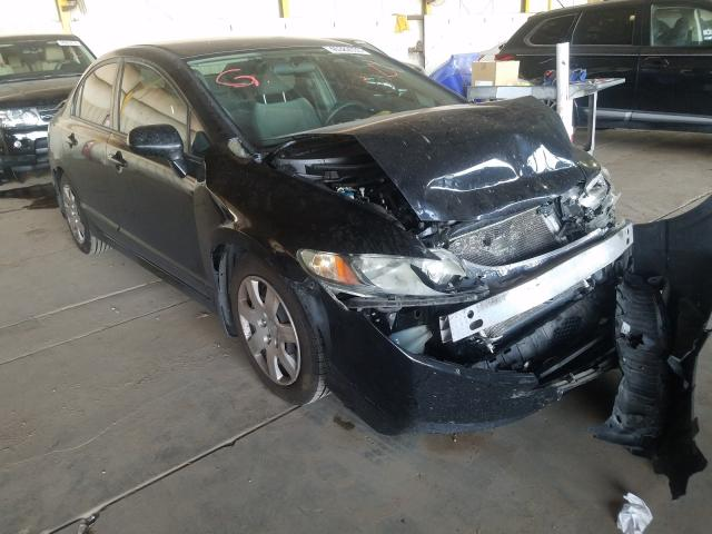 Honda Civic LX salvage cars for sale: 2011 Honda Civic LX