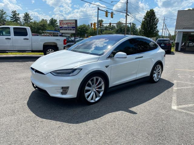 Salvage cars for sale from Copart North Billerica, MA: 2016 Tesla Model X