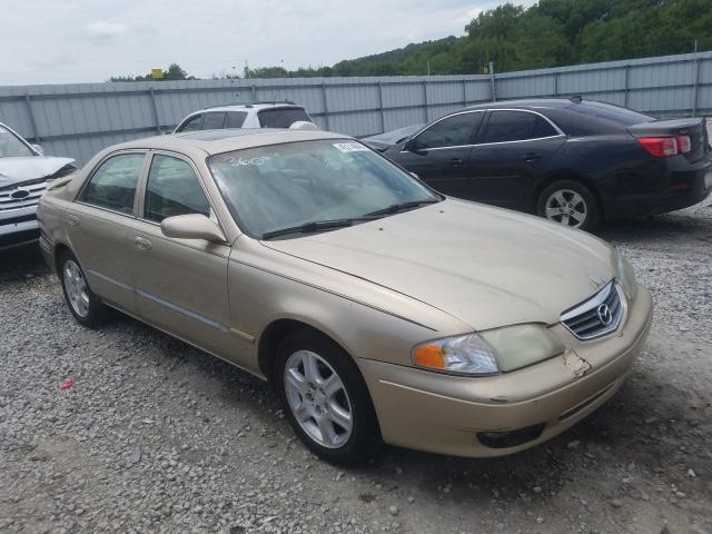 Mazda salvage cars for sale: 2001 Mazda 626