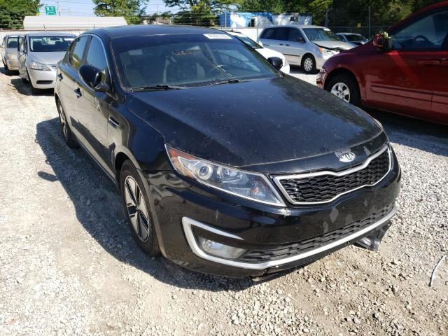 2012 KIA Optima Hybrid en venta en Northfield, OH