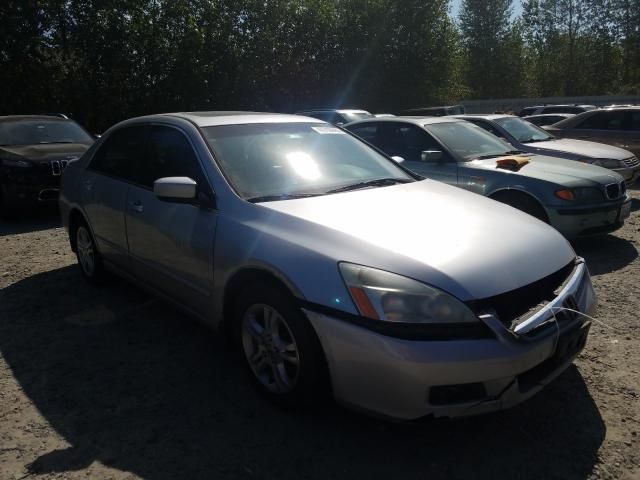 Salvage cars for sale from Copart Arlington, WA: 2006 Honda Accord EX