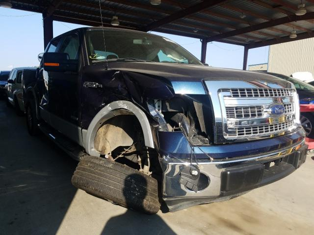 Salvage cars for sale from Copart Wilmer, TX: 2014 Ford F150 Super