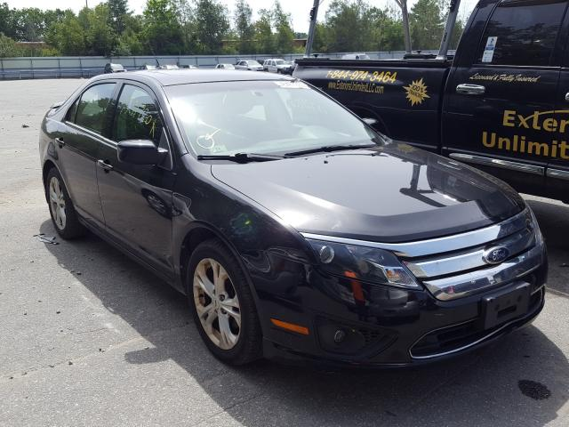 Ford Fusion SE salvage cars for sale: 2012 Ford Fusion SE