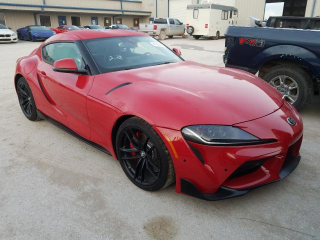 Salvage cars for sale from Copart Houston, TX: 2020 Toyota Supra Base