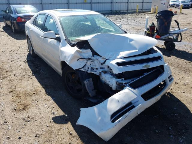 Salvage cars for sale from Copart Lansing, MI: 2010 Chevrolet Malibu 1LT