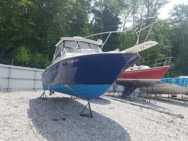 Bayliner salvage cars for sale: 1986 Bayliner Trophy