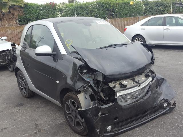 Smart Fortwo salvage cars for sale: 2017 Smart Fortwo