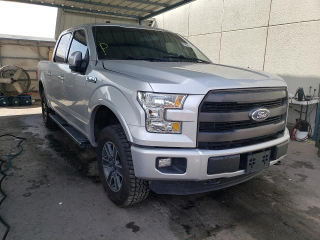 Salvage cars for sale from Copart Anthony, TX: 2016 Ford F150 Super