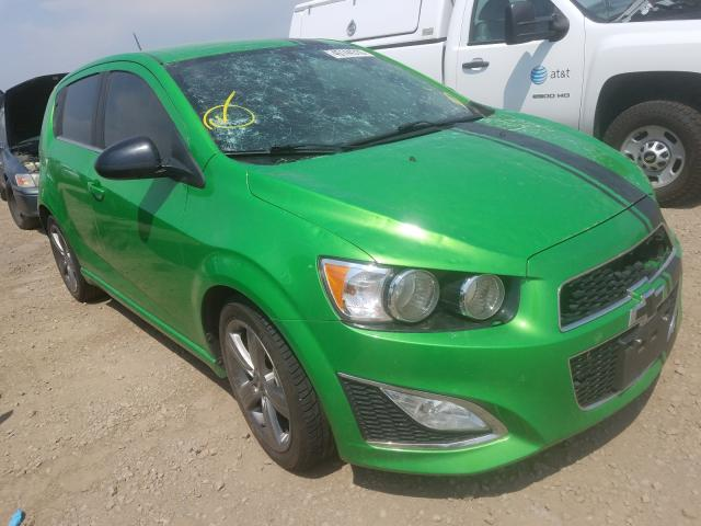 Vehiculos salvage en venta de Copart Brighton, CO: 2015 Chevrolet Sonic RS