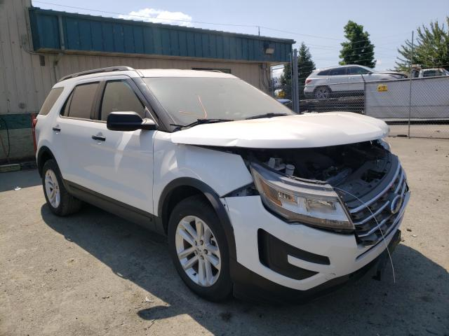 Salvage cars for sale from Copart Eugene, OR: 2017 Ford Explorer