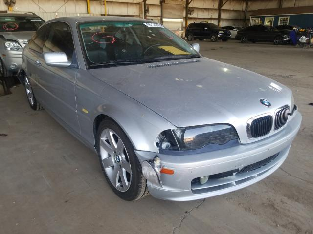 BMW salvage cars for sale: 2002 BMW 325 CI