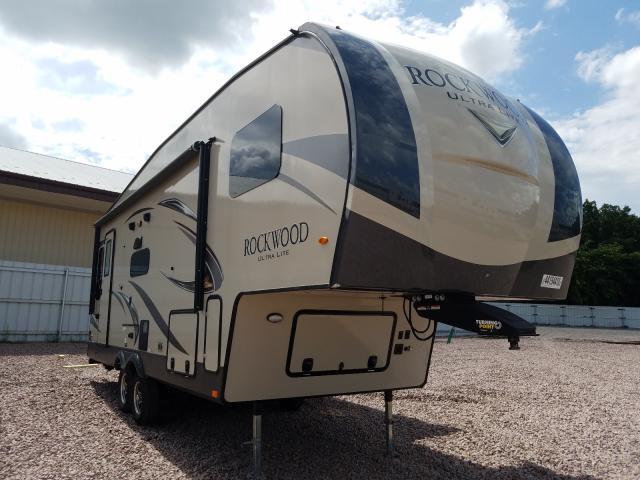Rockwood salvage cars for sale: 2019 Rockwood Fifthwheel