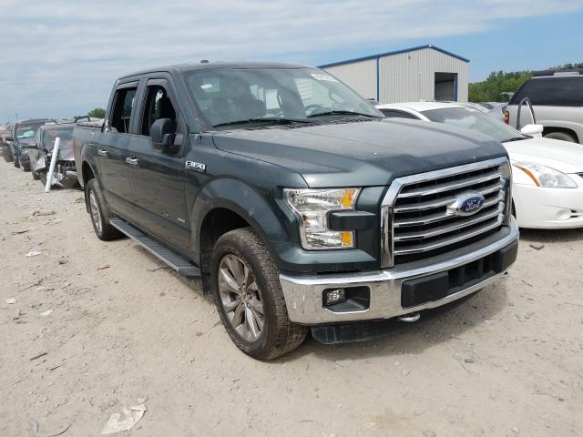 Salvage trucks for sale at Louisville, KY auction: 2015 Ford F150 Super