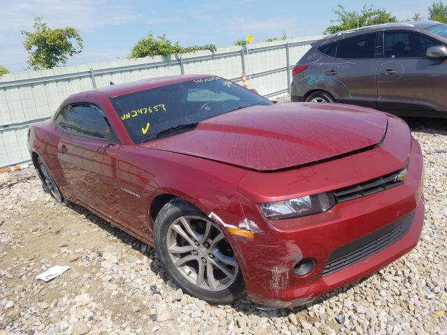 Salvage cars for sale from Copart Kansas City, KS: 2014 Chevrolet Camaro LT