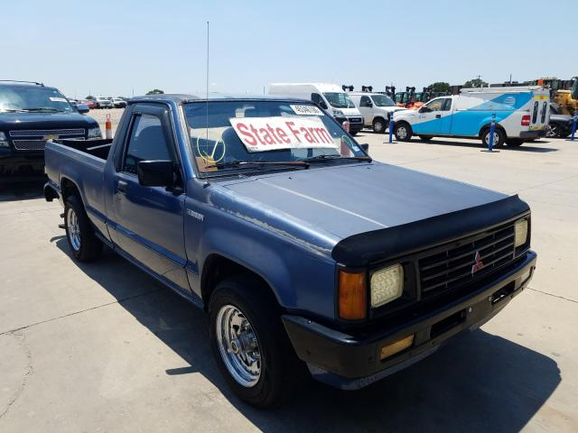 Mitsubishi Mighty Max salvage cars for sale: 1989 Mitsubishi Mighty Max