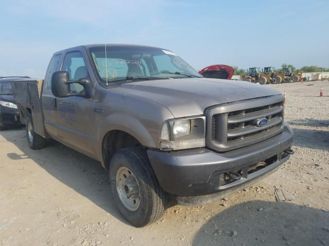 Vehiculos salvage en venta de Copart Kansas City, KS: 2004 Ford F250 Super