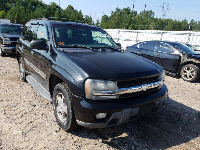 Salvage cars for sale from Copart Charles City, VA: 2002 Chevrolet Trailblazer