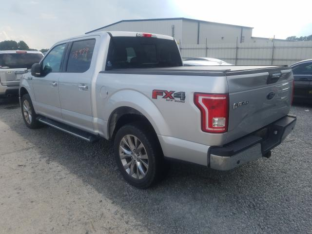 купить 2017 FORD F150 SUPERCREW 1FTEW1EF9HFB16426
