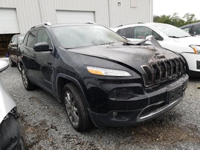 Salvage cars for sale from Copart Jacksonville, FL: 2017 Jeep Cherokee L