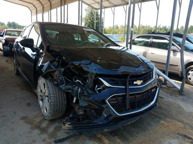 Salvage cars for sale at Gaston, SC auction: 2017 Chevrolet Cruze Premium