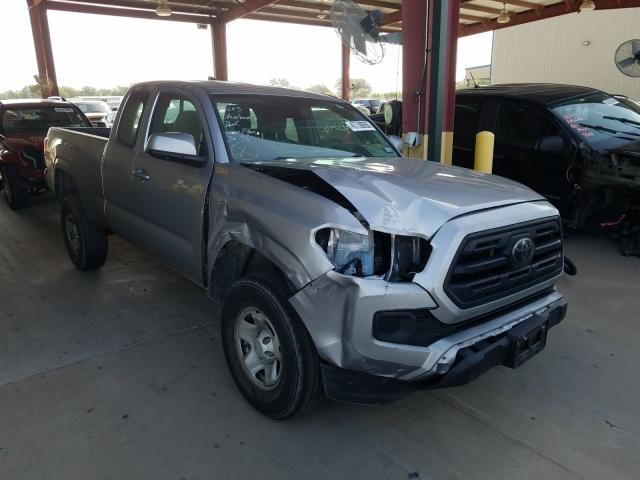 Salvage cars for sale from Copart Wilmer, TX: 2018 Toyota Tacoma ACC