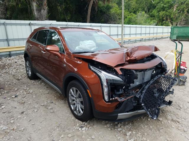Cadillac XT4 Premium salvage cars for sale: 2020 Cadillac XT4 Premium
