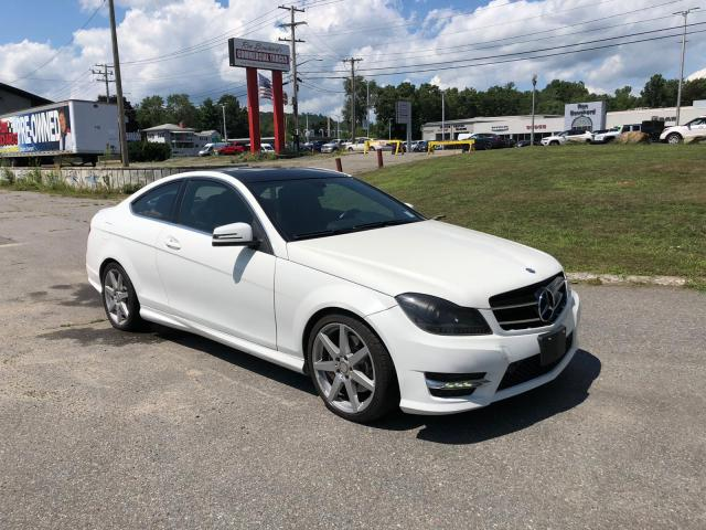 Mercedes-Benz C 350 4matic salvage cars for sale: 2015 Mercedes-Benz C 350 4matic