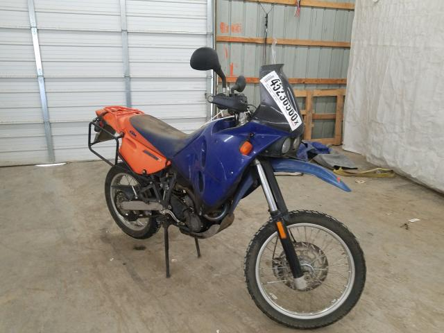 KTM 640 Advent salvage cars for sale: 2000 KTM 640 Advent