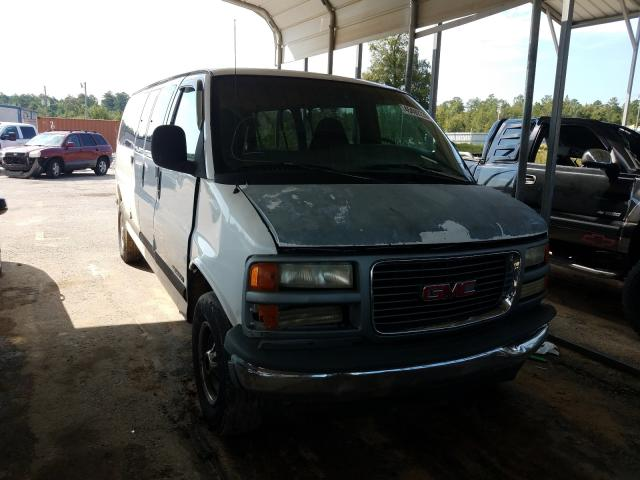 Salvage cars for sale from Copart Gaston, SC: 1997 GMC Savana G35