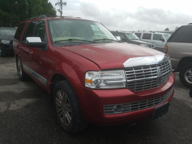 Salvage cars for sale from Copart Dunn, NC: 2008 Lincoln Navigator