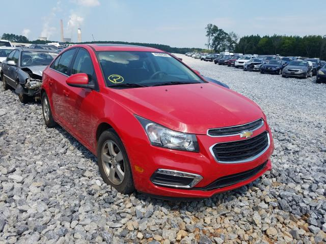 Salvage cars for sale from Copart Cartersville, GA: 2015 Chevrolet Cruze LT