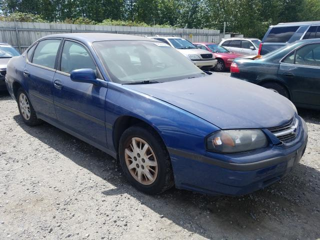 Salvage cars for sale from Copart Arlington, WA: 2004 Chevrolet Impala