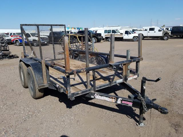Road salvage cars for sale: 2015 Road Trailer