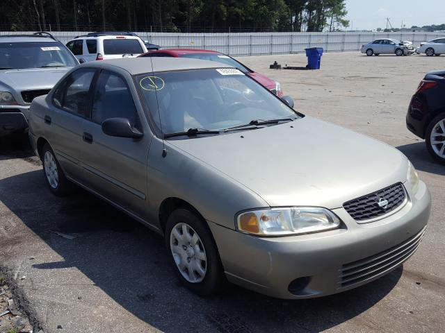 Salvage cars for sale from Copart Dunn, NC: 2002 Nissan Sentra XE
