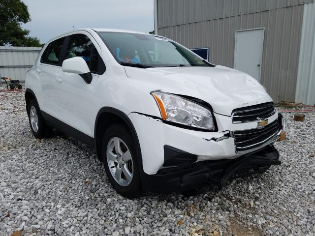 Chevrolet Trax LS salvage cars for sale: 2016 Chevrolet Trax LS