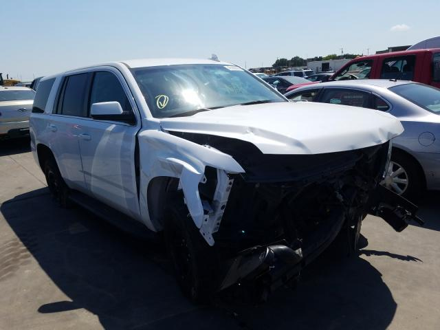 Chevrolet Tahoe Police salvage cars for sale: 2018 Chevrolet Tahoe Police