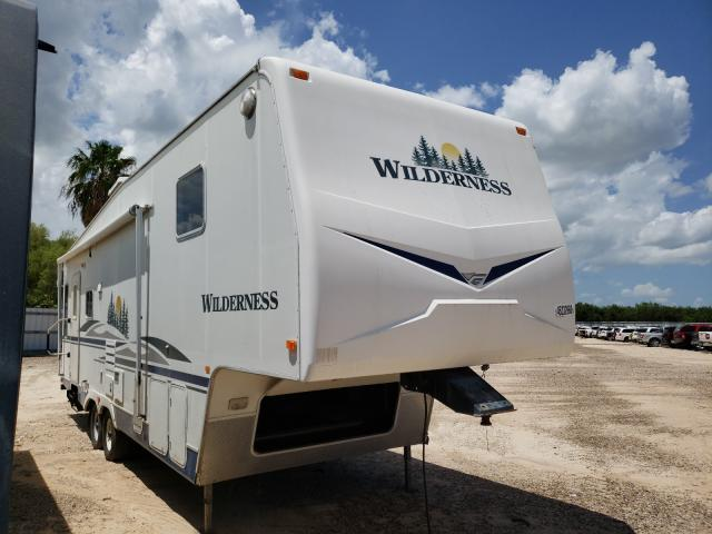 Salvage cars for sale from Copart Mercedes, TX: 2006 Wildcat Travel Trailer