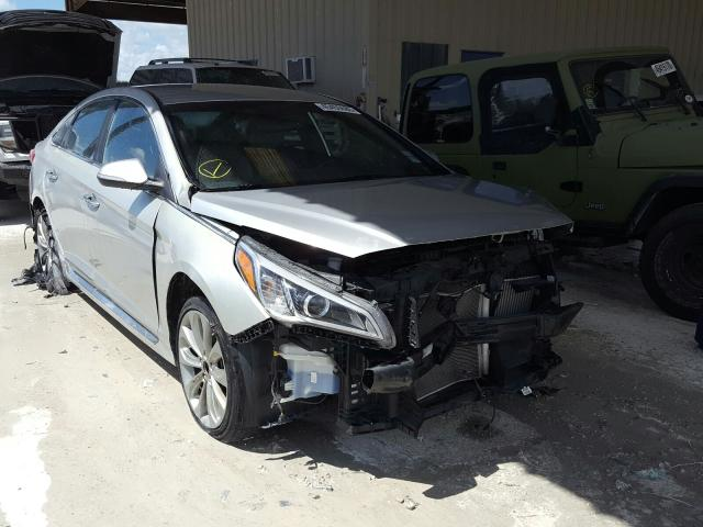 Salvage cars for sale from Copart Homestead, FL: 2015 Hyundai Sonata Sport