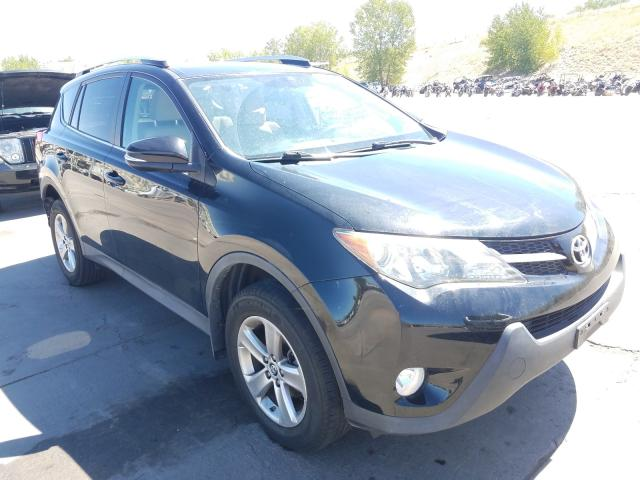 Toyota Rav4 XLE salvage cars for sale: 2015 Toyota Rav4 XLE
