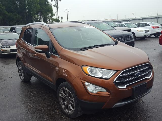 Salvage cars for sale from Copart Dunn, NC: 2018 Ford Ecosport T