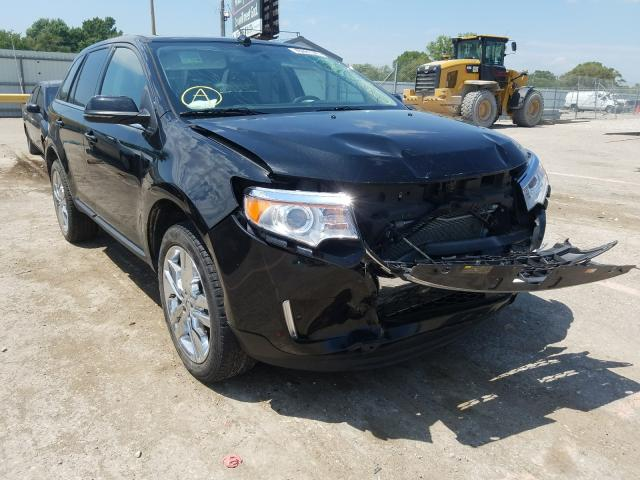 Salvage cars for sale from Copart Wichita, KS: 2013 Ford Edge Limited