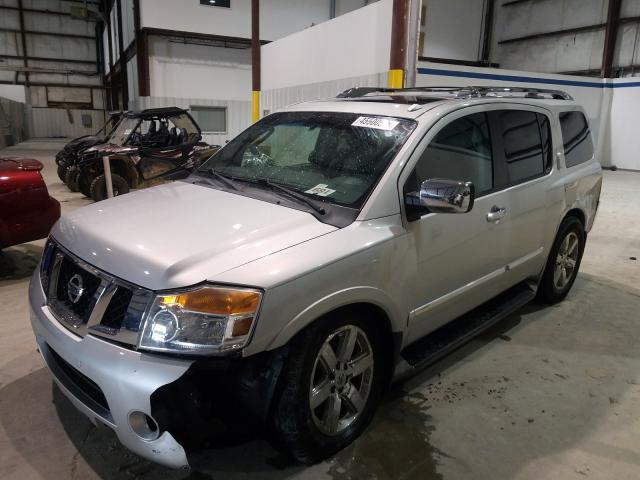 Salvage cars for sale from Copart Lawrenceburg, KY: 2010 Nissan Armada SE