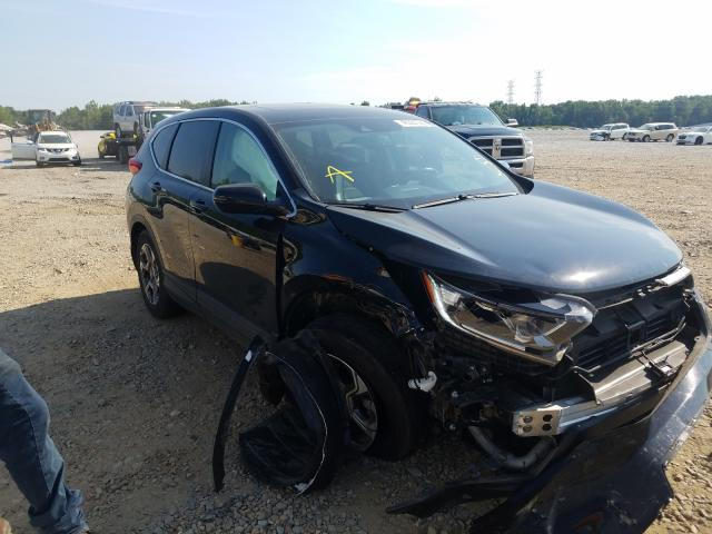 Salvage cars for sale from Copart Memphis, TN: 2019 Honda CR-V EXL